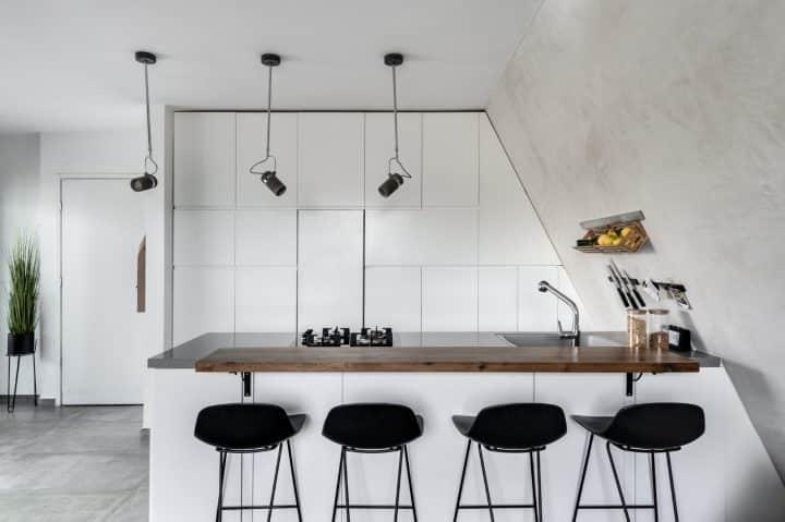 עיצוב מטבח, עיצוב מטבח לבן