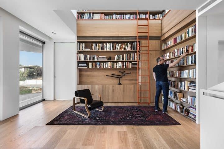 עיצוב ספרייה, ספרייה ביתית