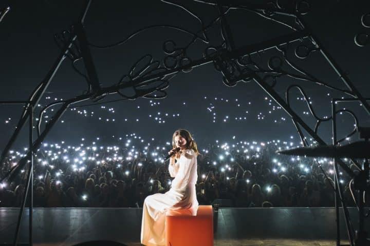 Lorde, הזמרת לורד בהופעה, Candy Cube