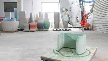 הדפסת בטון, ריהוט, עיצוב, גרדייאנט