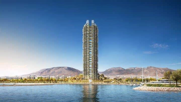 מגדל מרינה, בניה ירוקה, עיצוב בר קיימא, אדריכלות