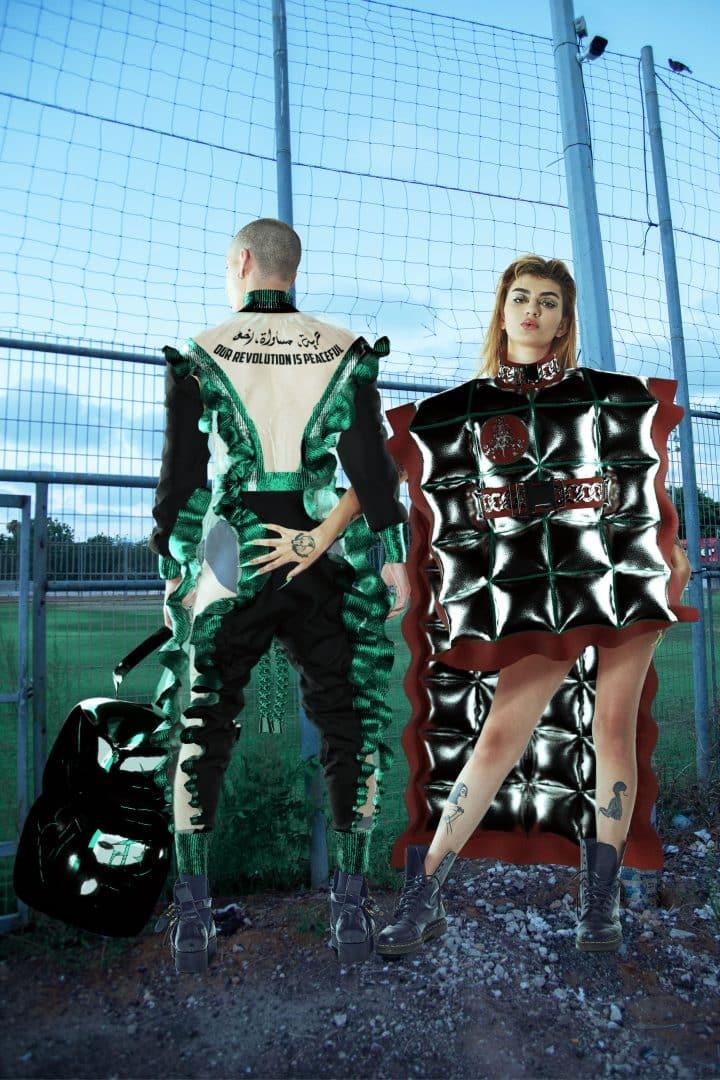 אופנה וירטואלית, פרויקט גמר, דודי כהן, שנקר