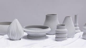 אדריכלות זעירה, סטודיו שיין, ואזות, הדפסת תלת ממד
