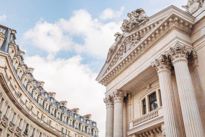 בניין הבורסה, פריז