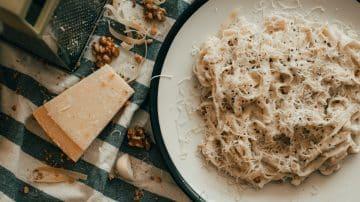 גבינת פרמז'ן, פסטה עם פרמז'ן, תחרות עיצוב