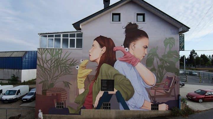 מתי בפעם האחרונה ראיתם פורטרט צמר או ציור ענק על הבית של השכן?