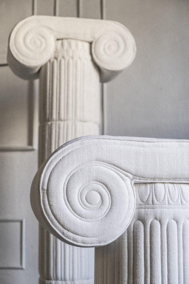 טקסטיל, פסלים, שיש, אבן, רוג'ר סרחיו, אלים, עמוד, יווני, רומני
