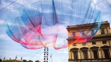 היצירה החדשה של מרצדס בנץ תצוף מעל העיר מינכן