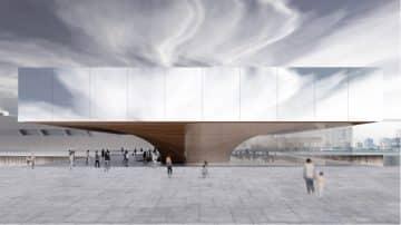 כגשר מעל הנהר, מוזיאון הצוללות החדש של שנחאי